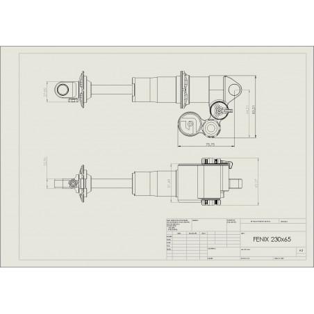 Montage Standard - Amortisseur Fenix Enduro