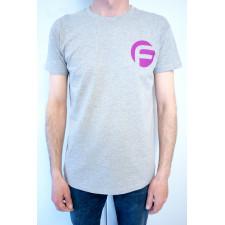 Gris Camiseta FAST