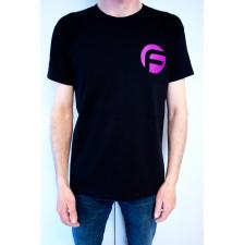 Negro Camiseta FAST