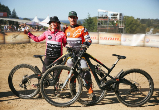 #Doubletrouble That time of the year when Mick & Tracey Hannah got the win together at Crankworx! #HolyGrail